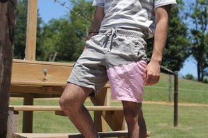 Image of Color Block Swim Shorts