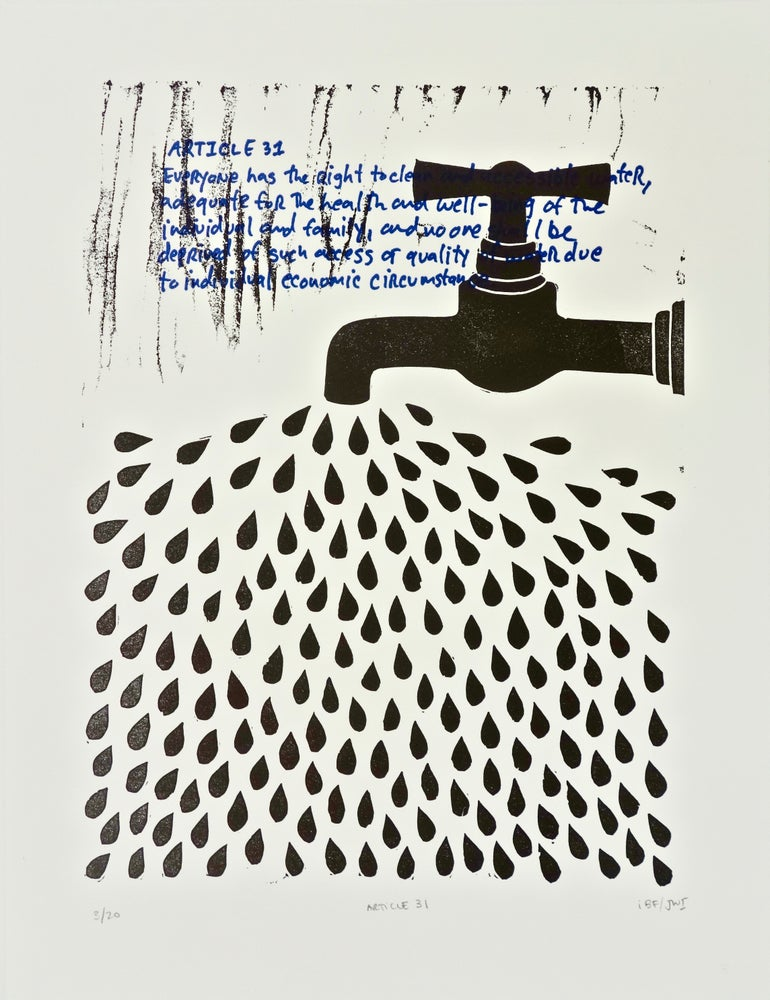 Image of Article 31 (Artist Proof) in collaboration with Jeremy Wang-Iverson