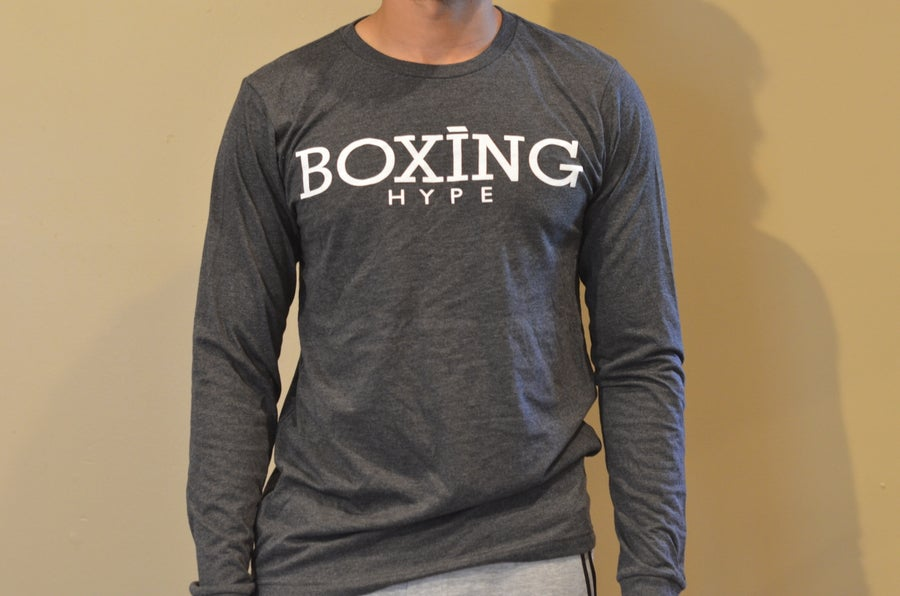 Image of Mens Full Sleeve BoxingHype Logo Tees
