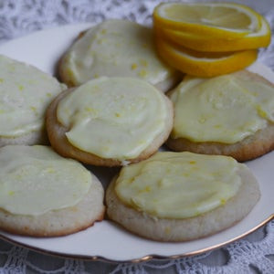 Image of Frosted Lemon Wafers