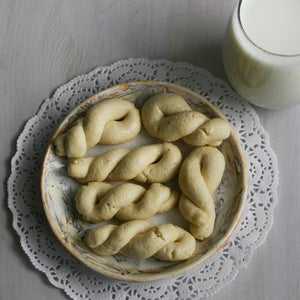 Image of Greek Cookies (Koulourakia) - TWO DOZEN