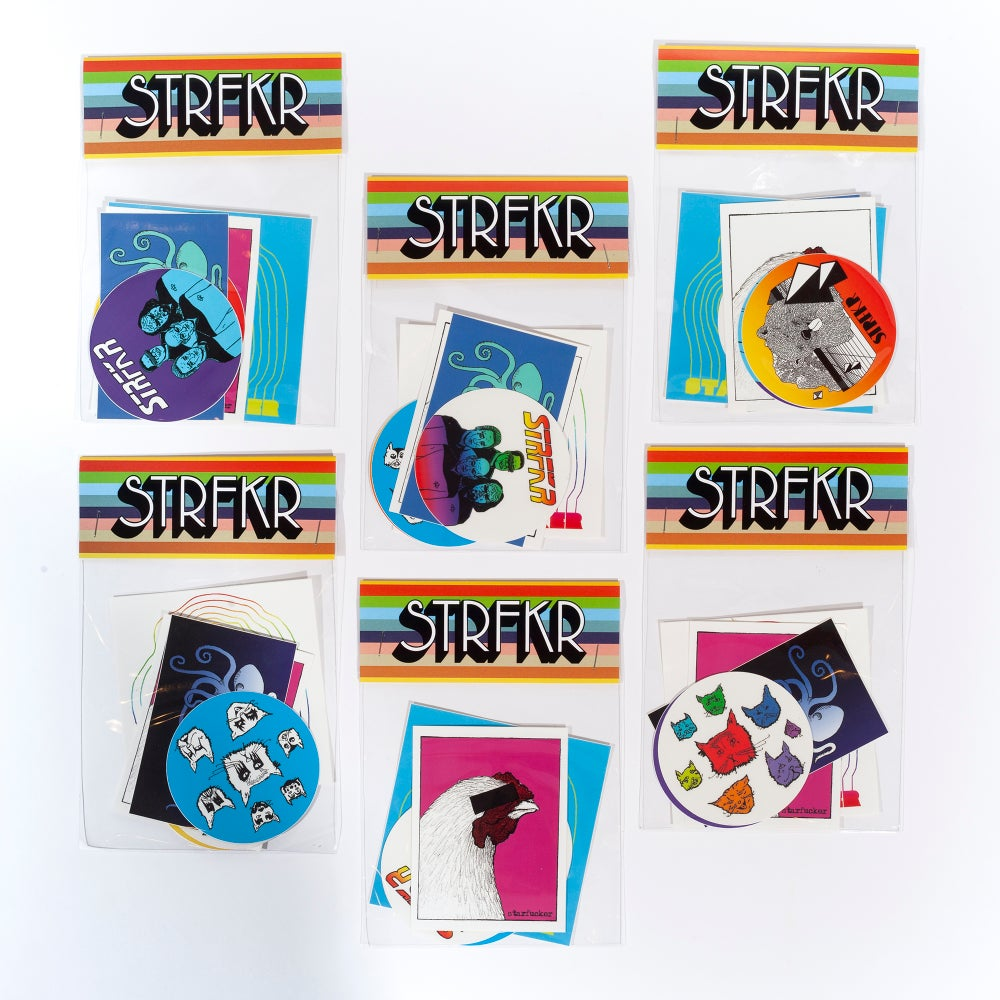 Image of STRFKR 6-Sticker Pack