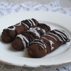 Image of Chocolate Cocoa Logs- TWO DOZEN