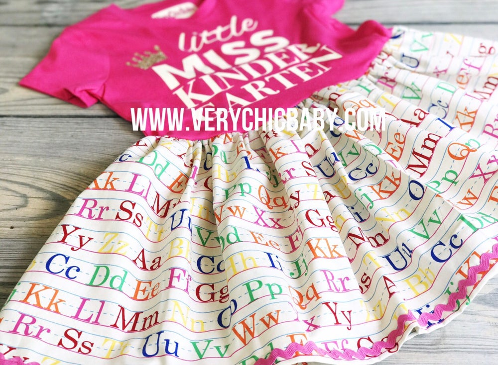 Image of Little Miss Back to School Dress