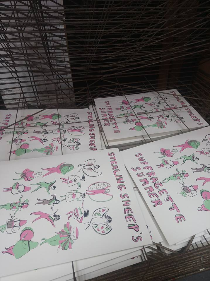 Image of Suffragette Summer Limited Screen Prints