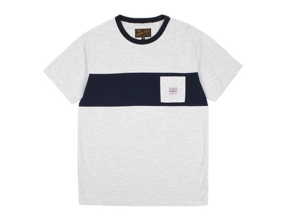 Image of BENNY GOLD - TERRY GREY PREMIUM POCKET TEE
