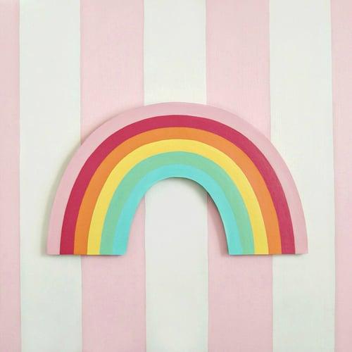 Image of Rainbow plaque