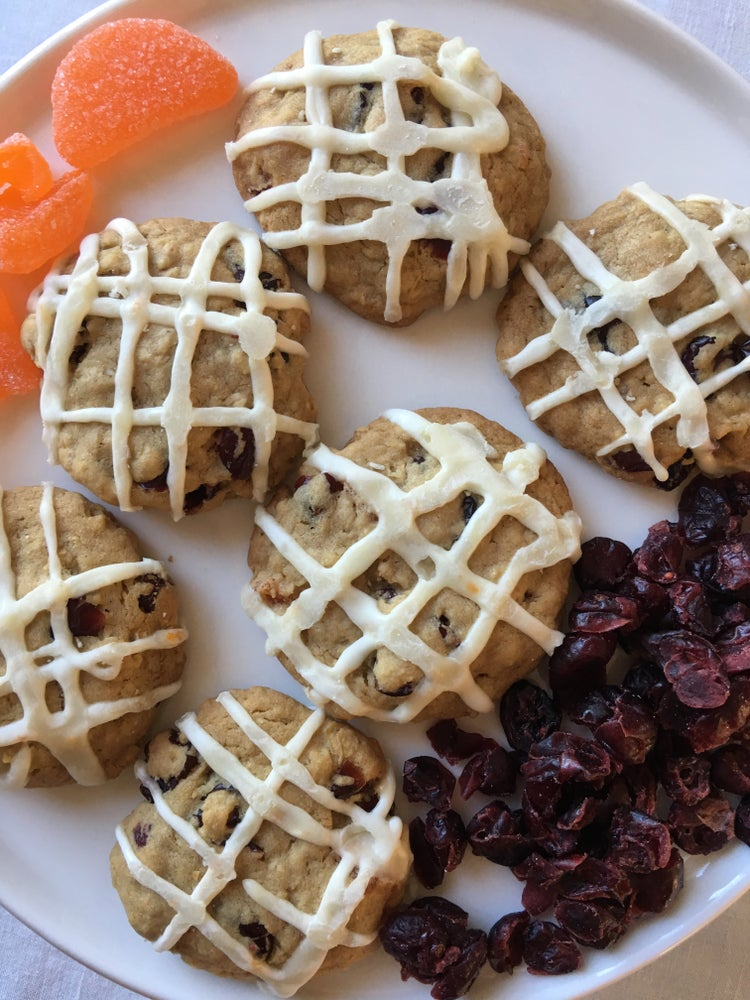 Image of Cranberry Orange Cookies- TWO DOZEN