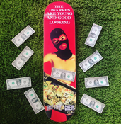 Image of The Dwarves Are Young And Good Looking Skate Deck