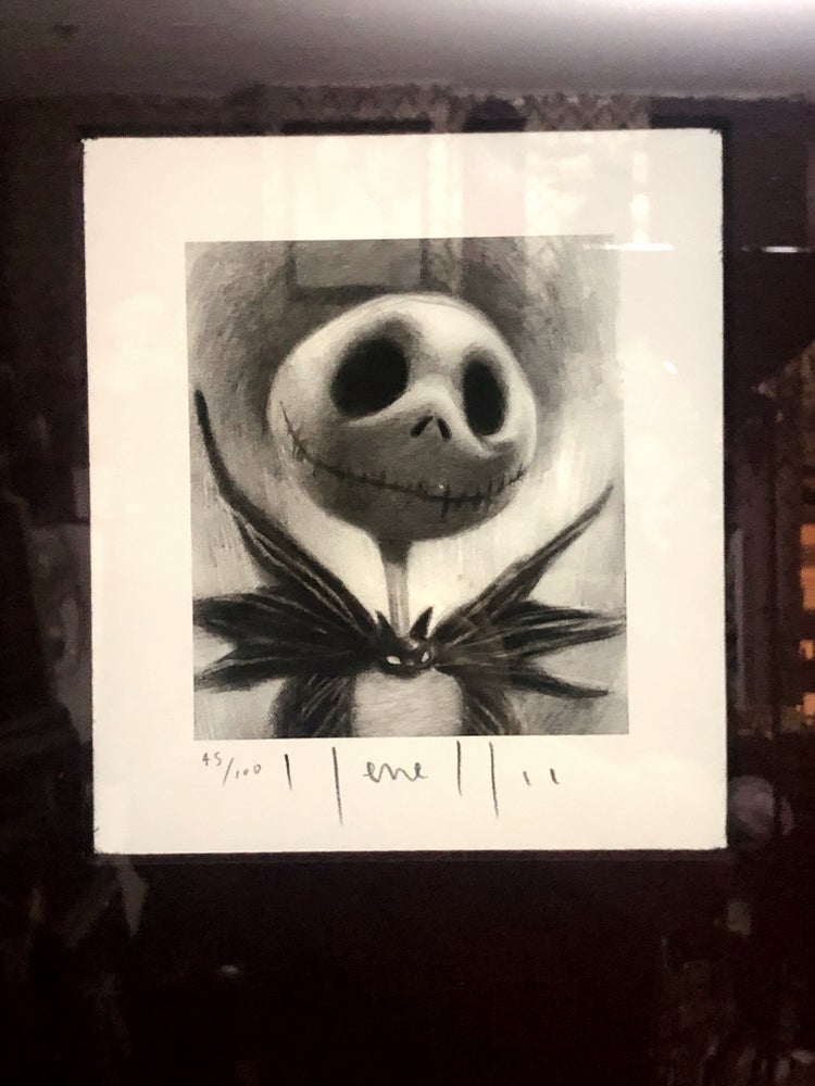 Image of 'THE PUMPKIN KING' - Framed Limited Edition {45/100}