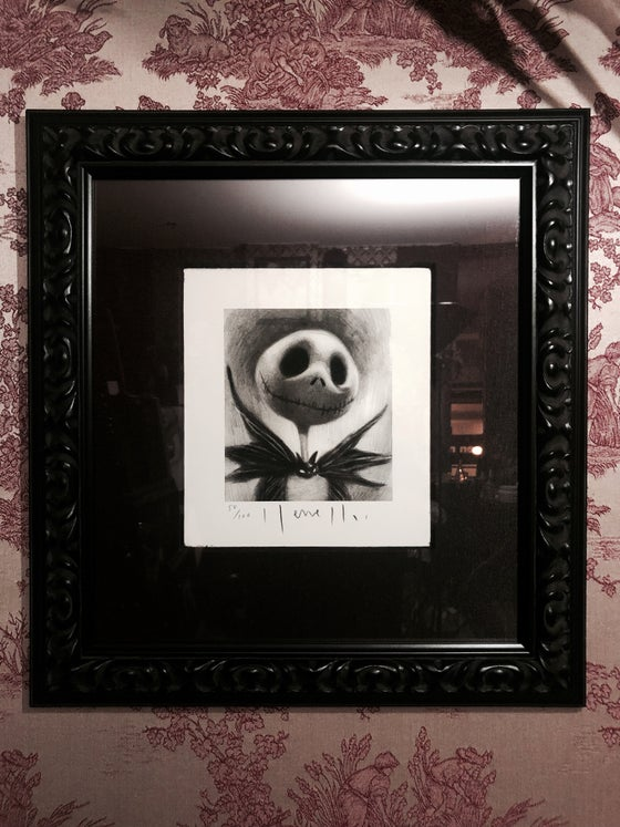Image of 'THE PUMPKIN KING' - Framed Limited Edition {50/100}