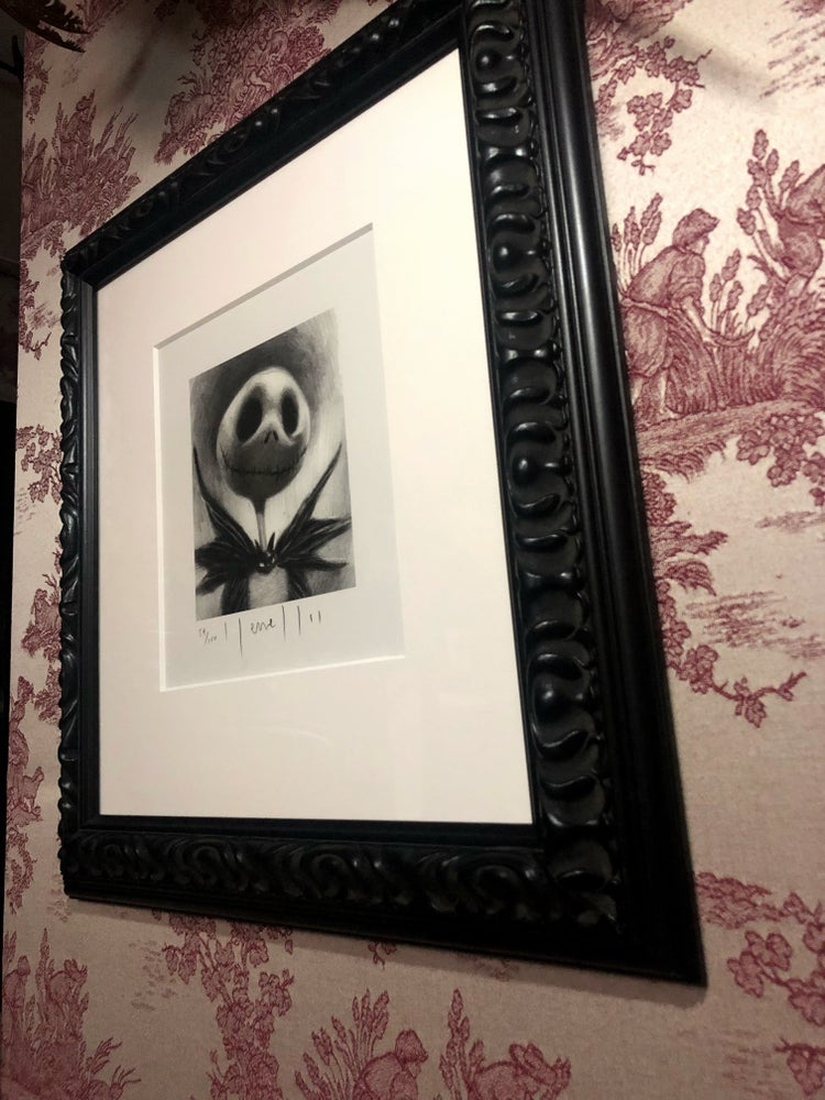 Image of 'THE PUMPKIN KING' - Framed Limited Edition {54/100}