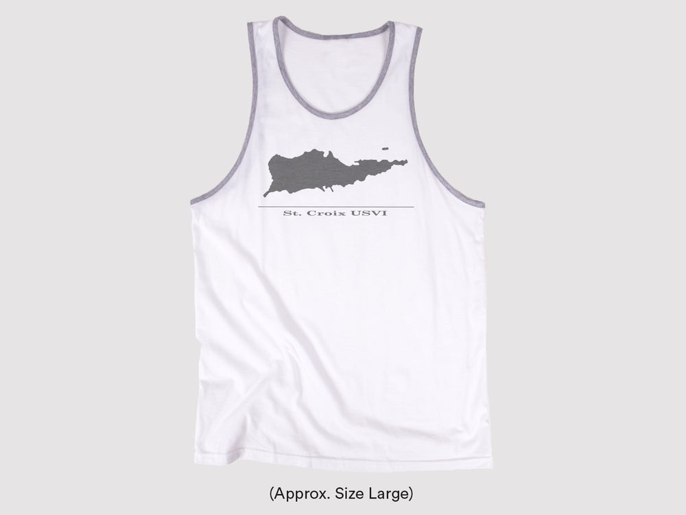 Image of Men's Canvas Jersey Tank 3480