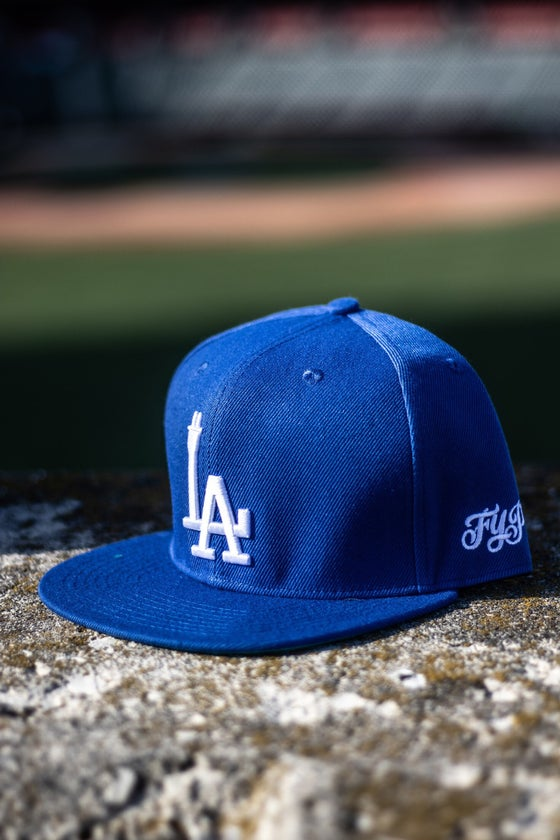Image of LA PLUG SNAPBACK BLUE