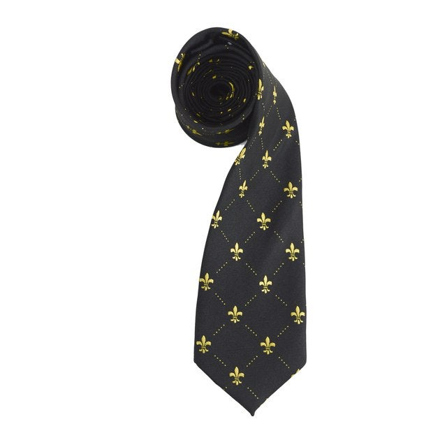 Image of New Orealns Saints Skinny Ties