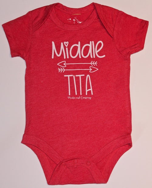 Image of Middle Tita Collection - Red