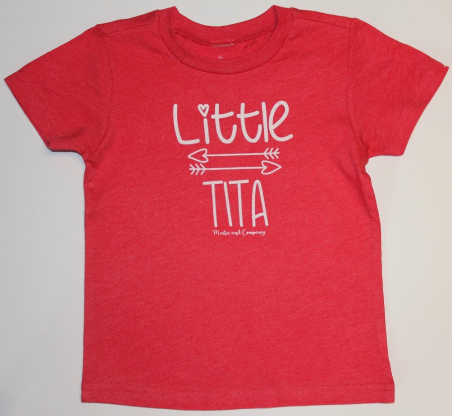 Image of Little Tita Collection-Red