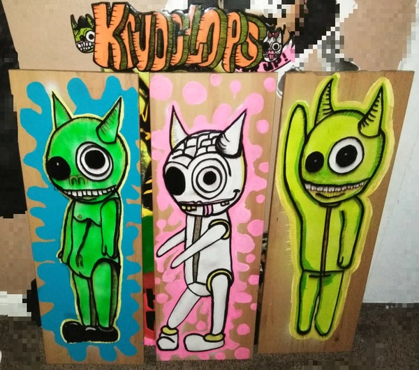 Image of Krudclops Wood Cutouts