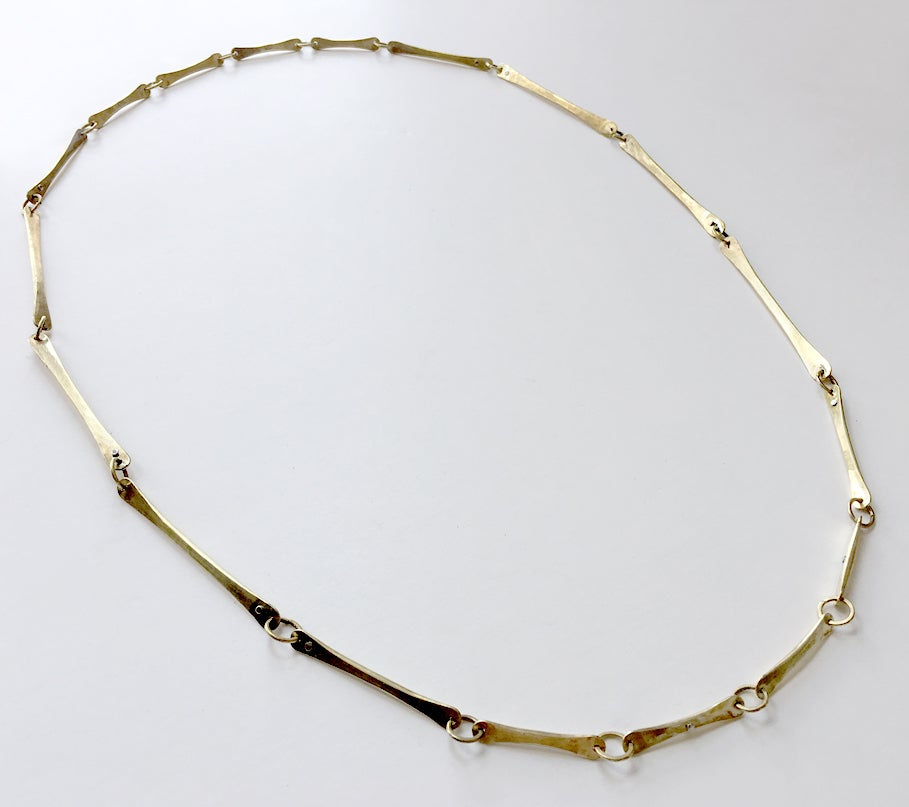 Image of Punctuated Bone Necklace