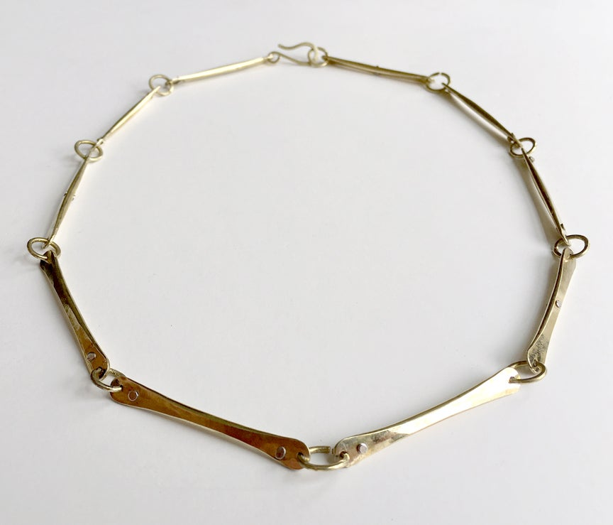 Image of Punctuated Bones Choker
