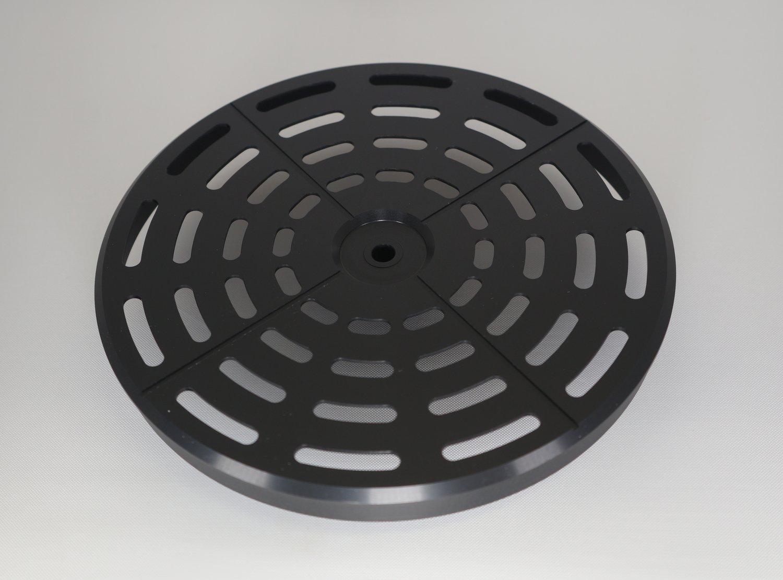 Image of  Reloop Spin Black RS Rev 01 - Premium 7″ Aluminium plattern