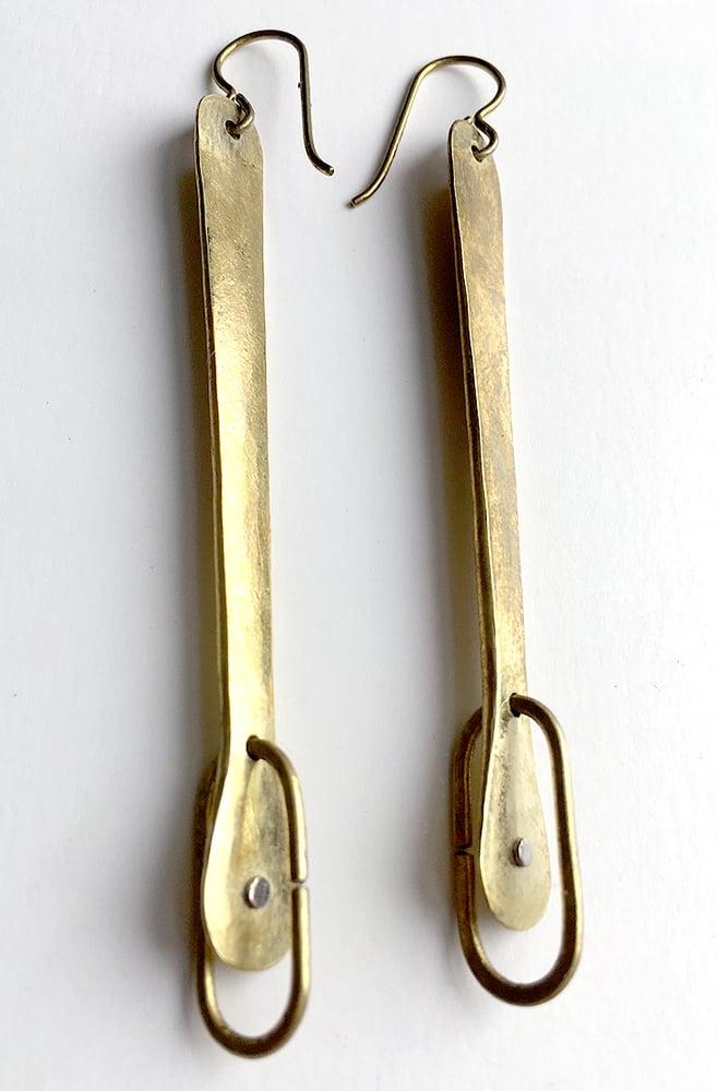 Image of Link and Eye Earrings
