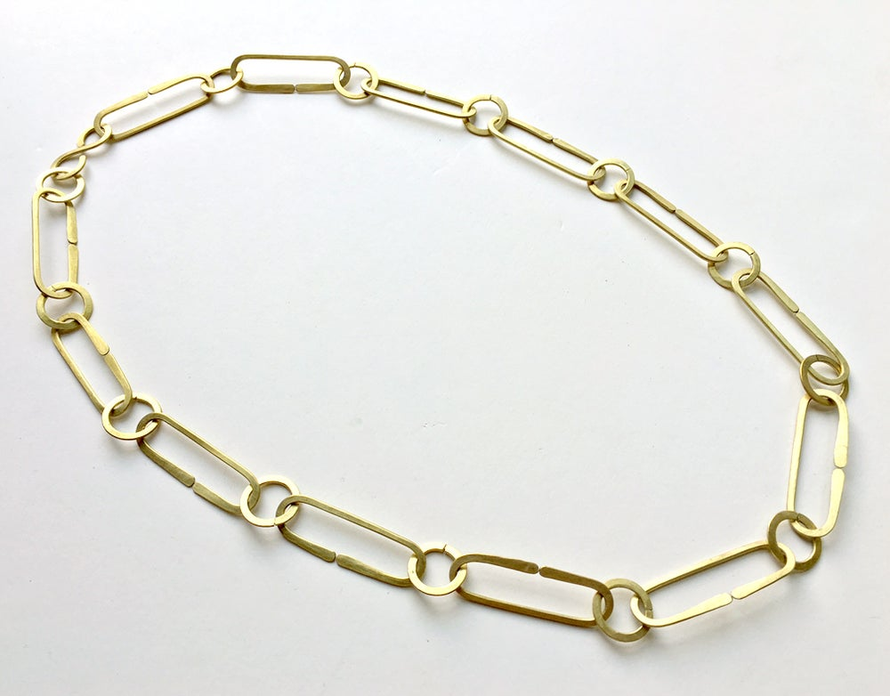 Image of Link and Loop Necklace