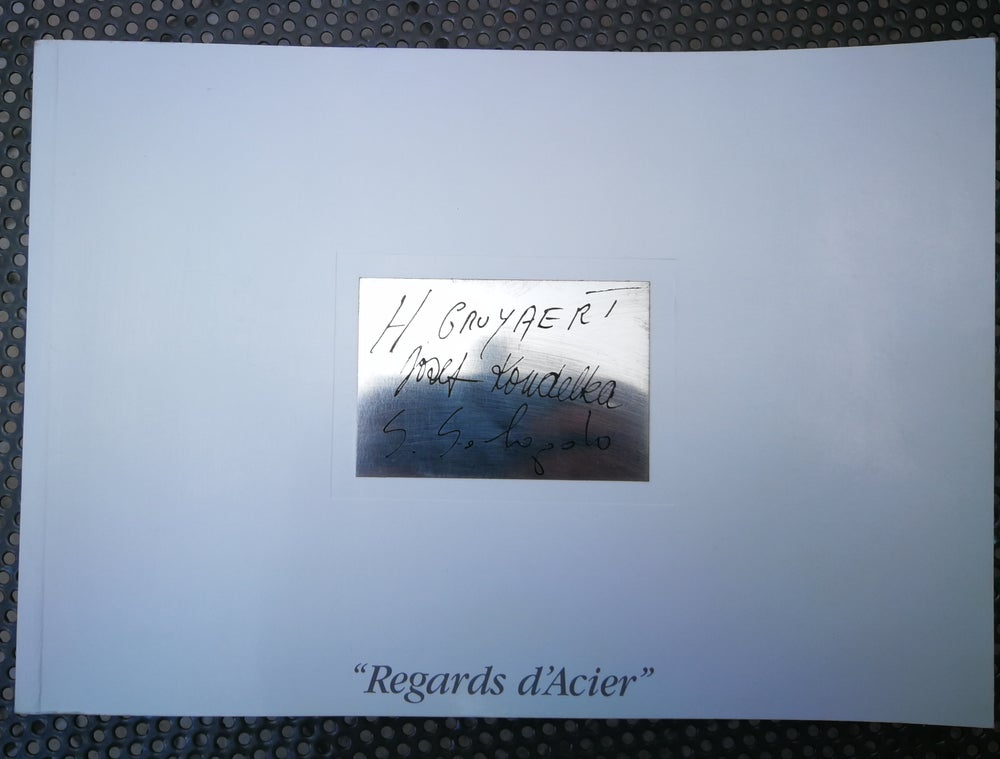 Image of Regard d'Acier GRUYAERT, KOUDELKA, SALGADO