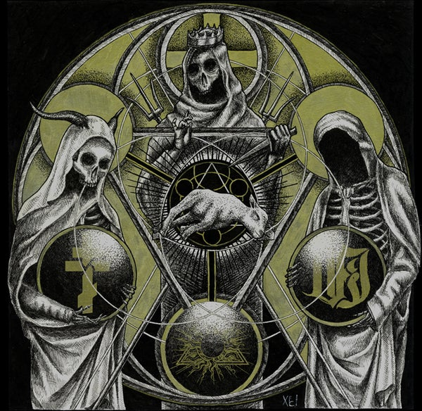 "Image of VI / Temple of Baal / The Order of Apollyon 12""MLP"