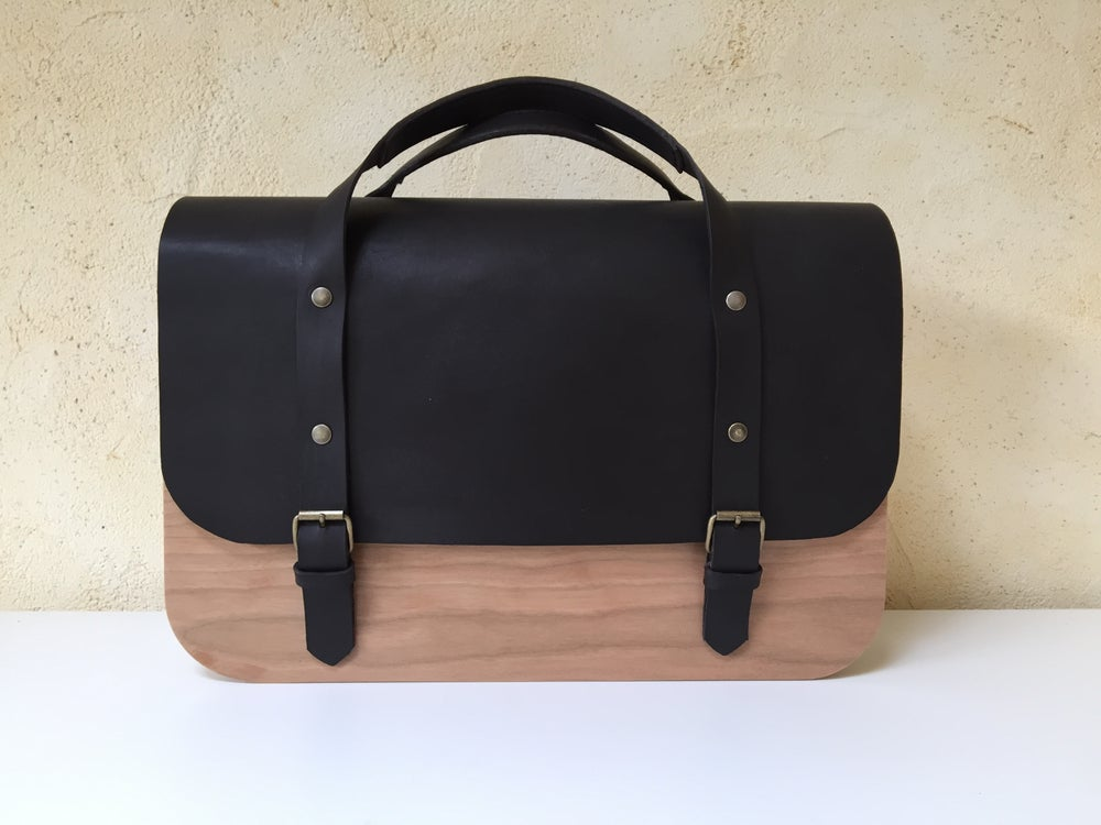 Image of Wooden Bag Prunus