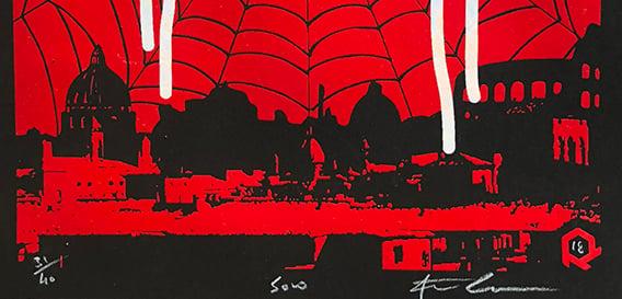 """Image of Serigrafia """" La Passione II """" by SOLO"""