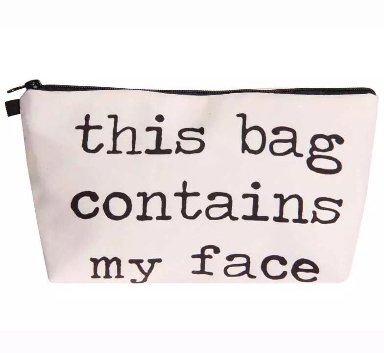 Image of This Bag Contains Cosmetic Bag