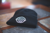 Image of Monkey Beanie (Embroidered)