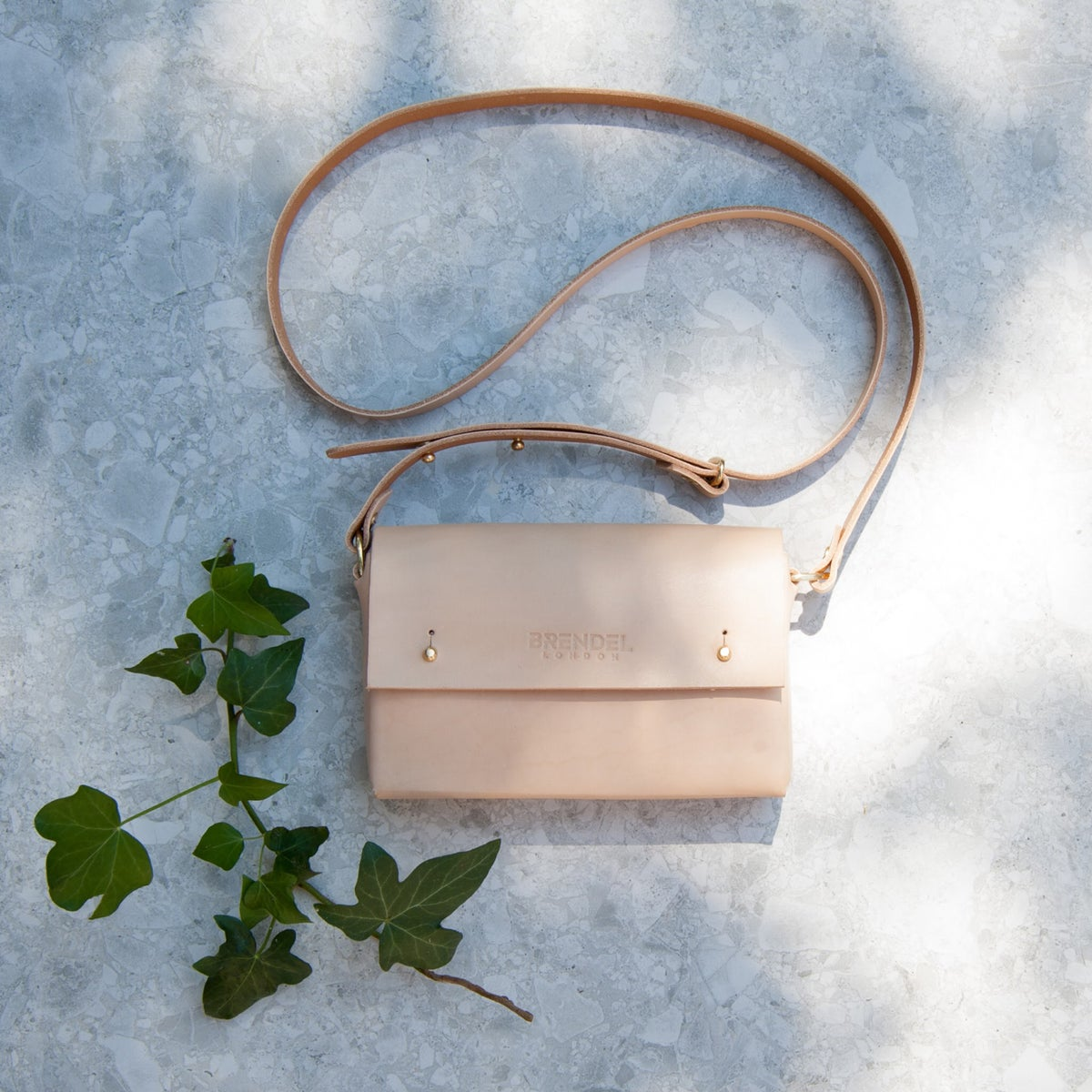 Image of RIV MINI Shoulder Bag NATURAL