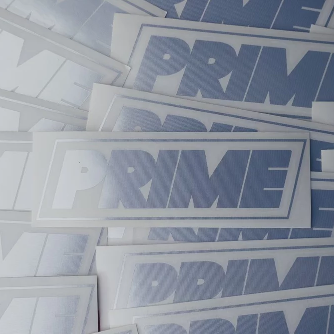 Image of PRIME LOGO DECAL CHROME