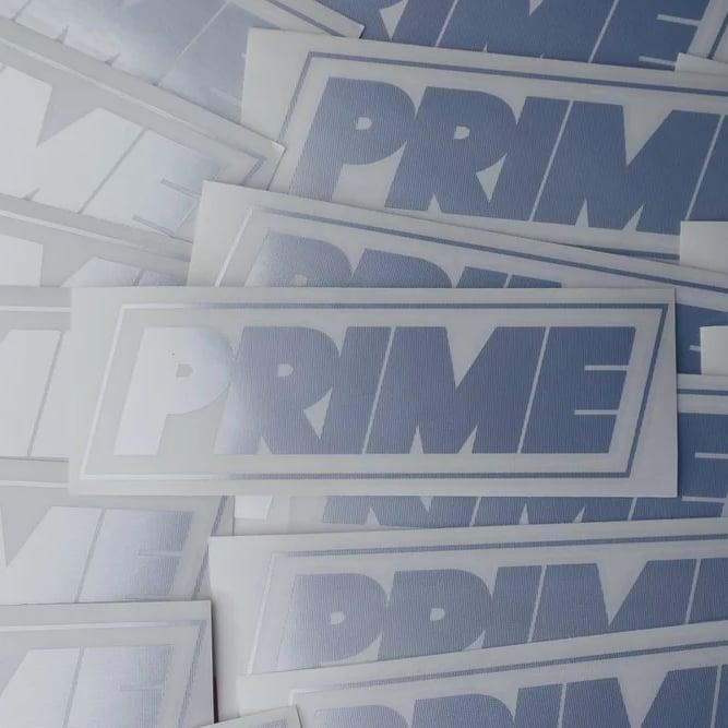 Image of PRIME LOGO DECAL CHROME