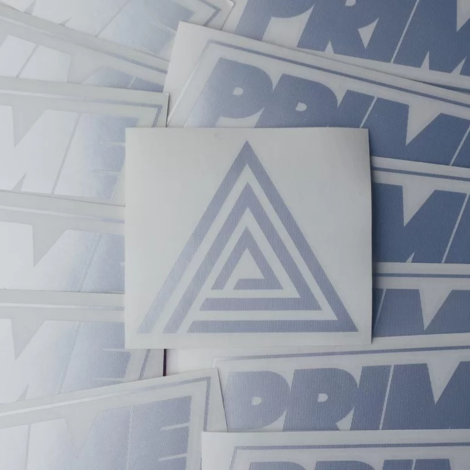 Image of TRIPLE PYRAMID DECAL