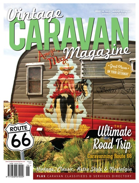Image of Issue 26 Vintage Caravan Magazine