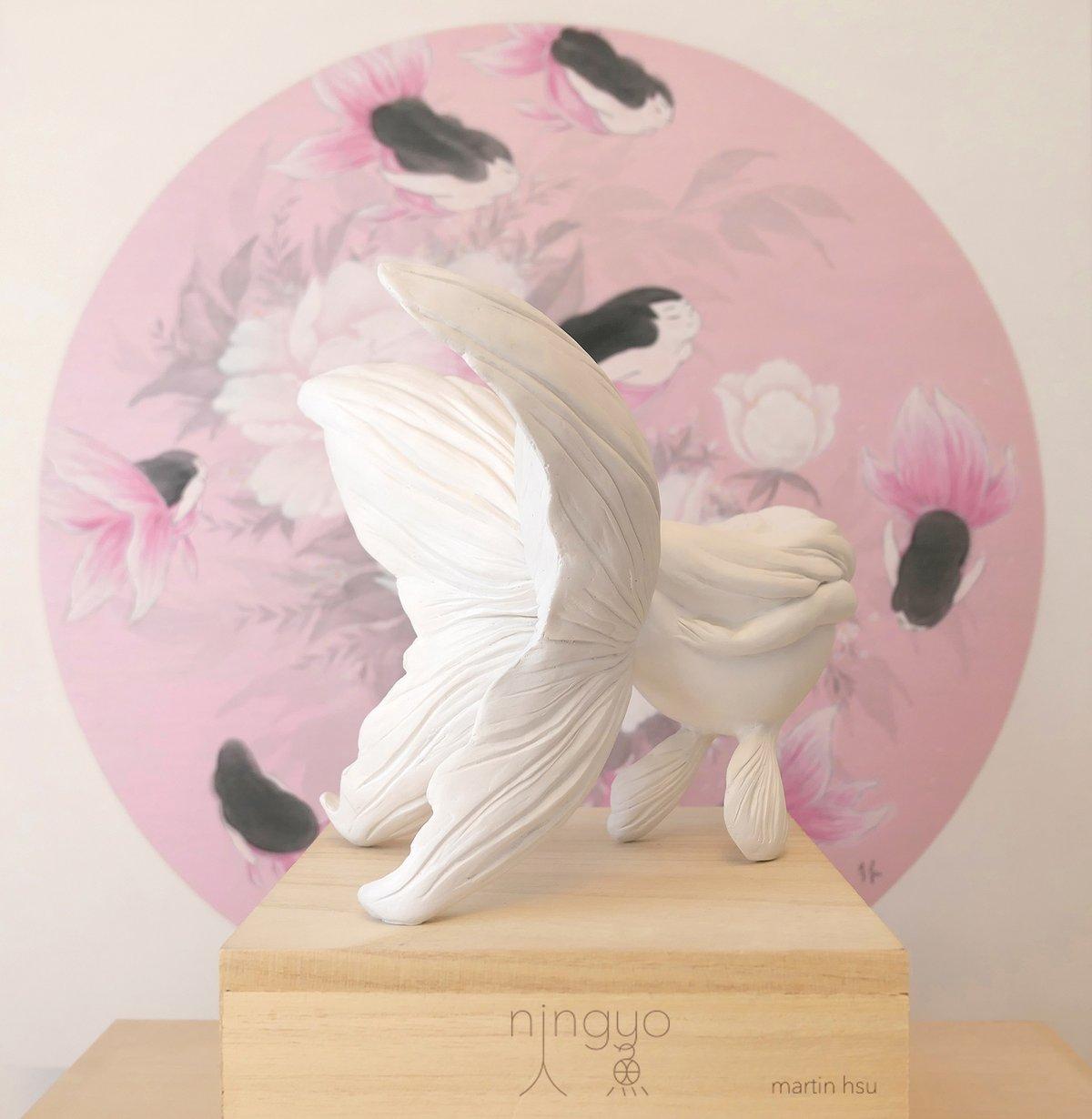 Ningyo Sculpture - First Snow