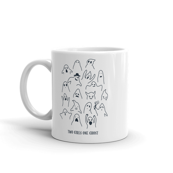 Image of GHOST CLUSTER - COFFEE MUG - WHITE