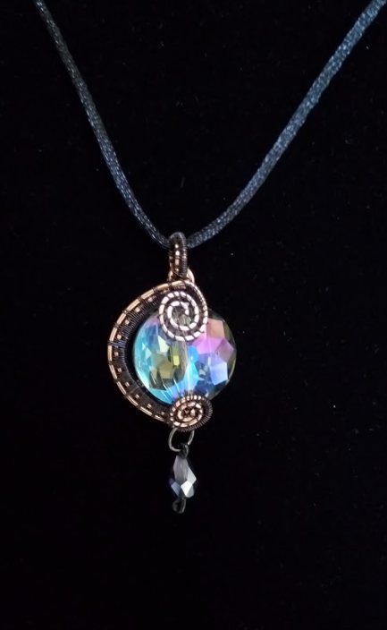 Image of Double-Sided Wire Necklace
