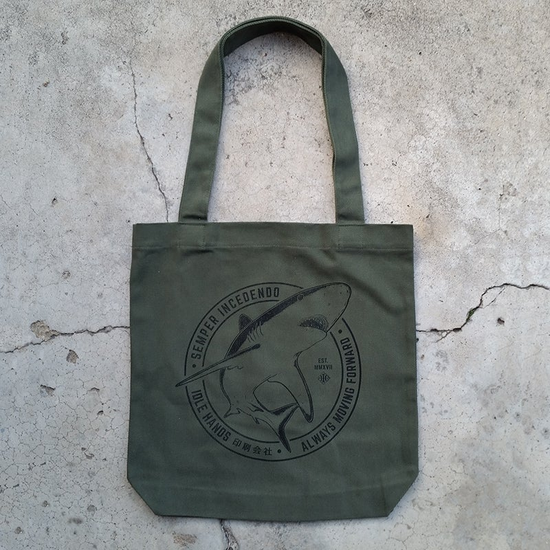 Image of Army Green Tote Bag