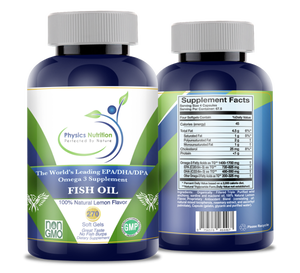 Image of Premium Omega 3 Fish Oil