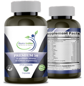 Image of Dairy Free Probiotics 60 Day Supply - 50 Billion per Capsule