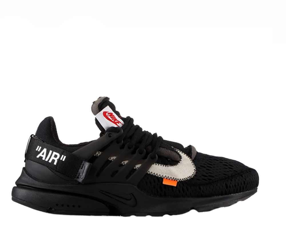Image of NIKE X OFF WHITE PRESTO BLACK AA3830-002