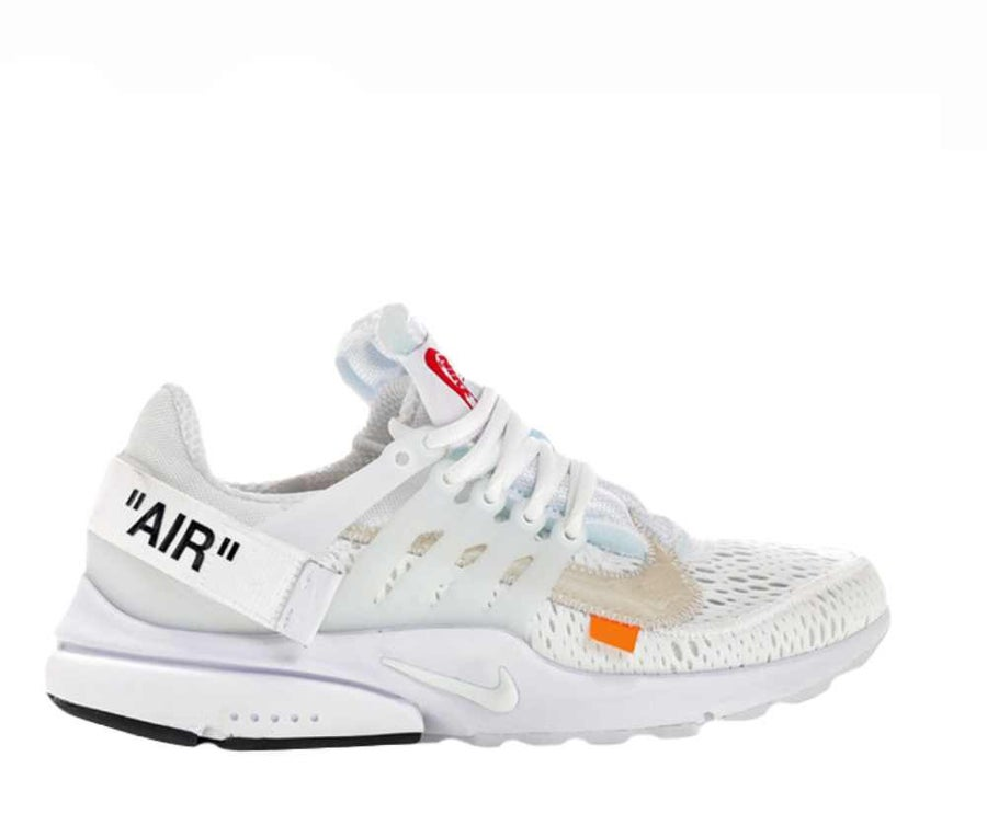 Image of NIKE X OFF WHITE PRESTO WHITE AA3830-100