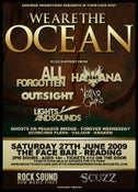 Image of We Are The Ocean. Saturday 27th June. Club Night