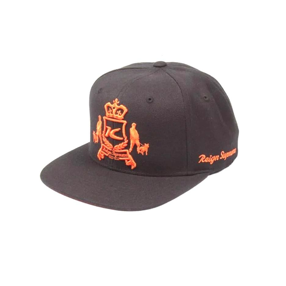 Image of King Apparel Black Dappa Starter Snapback Cap