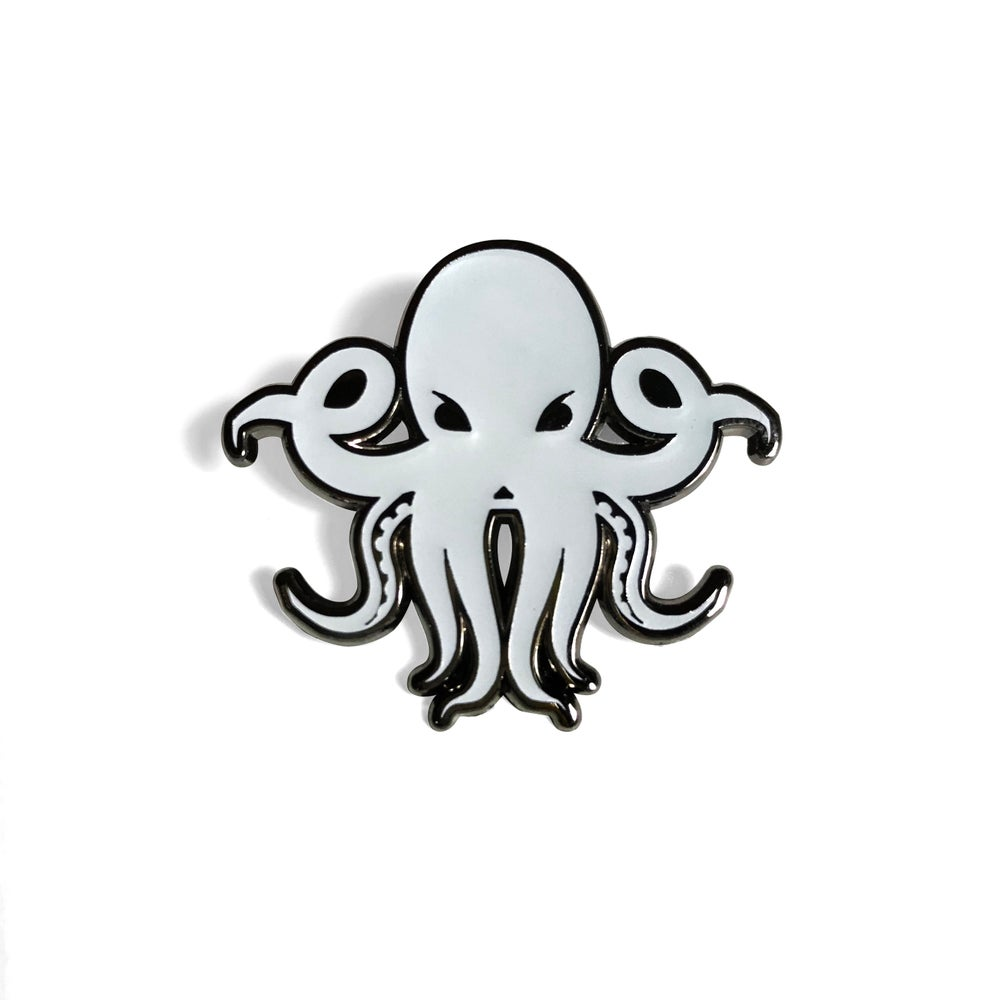 "Image of Limited Edition ""FYKO The Octopus"" Glow in the dark Enamel Pin"