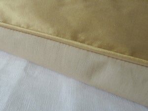 Image of Soft Gold Smooth Silk Eiderdown